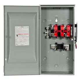 Siemens 200 Amp Fusible Metallic Safety Switch Gf224nr Safety Switch Locker Storage Siemens