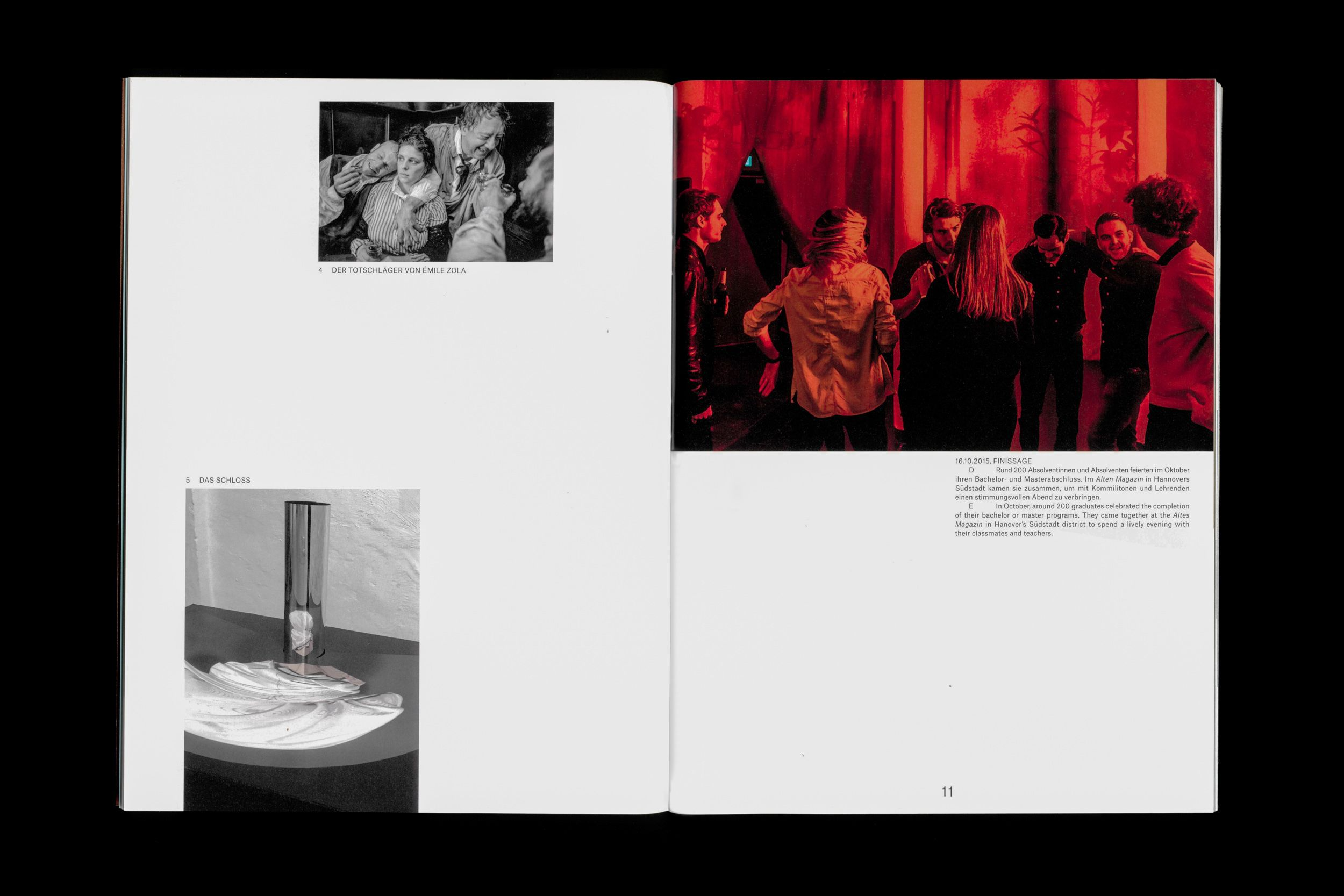 The Newly Concepted Yearbook For The Hannover University Of The Applied Sciences And Arts In 2020 Layout Design Inspiration Yearbook Editorial Layout