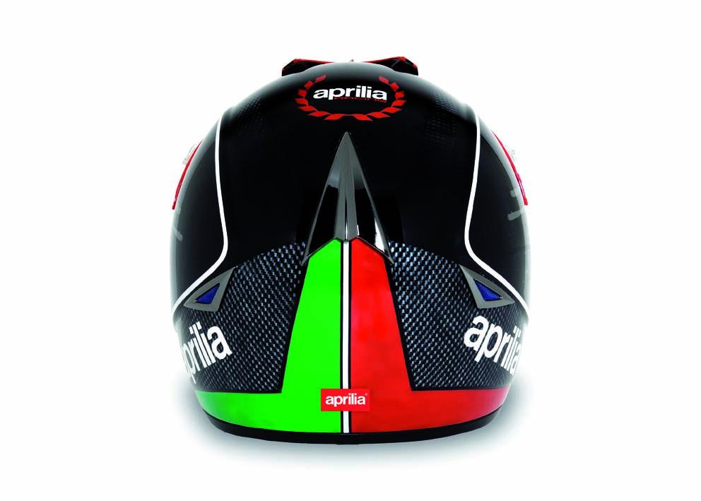 2012 Aprilia Offroad XV1 helmet shell made of