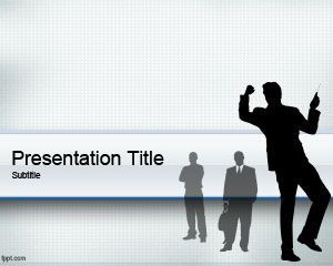 Business People PowerPoint Template PPT Template