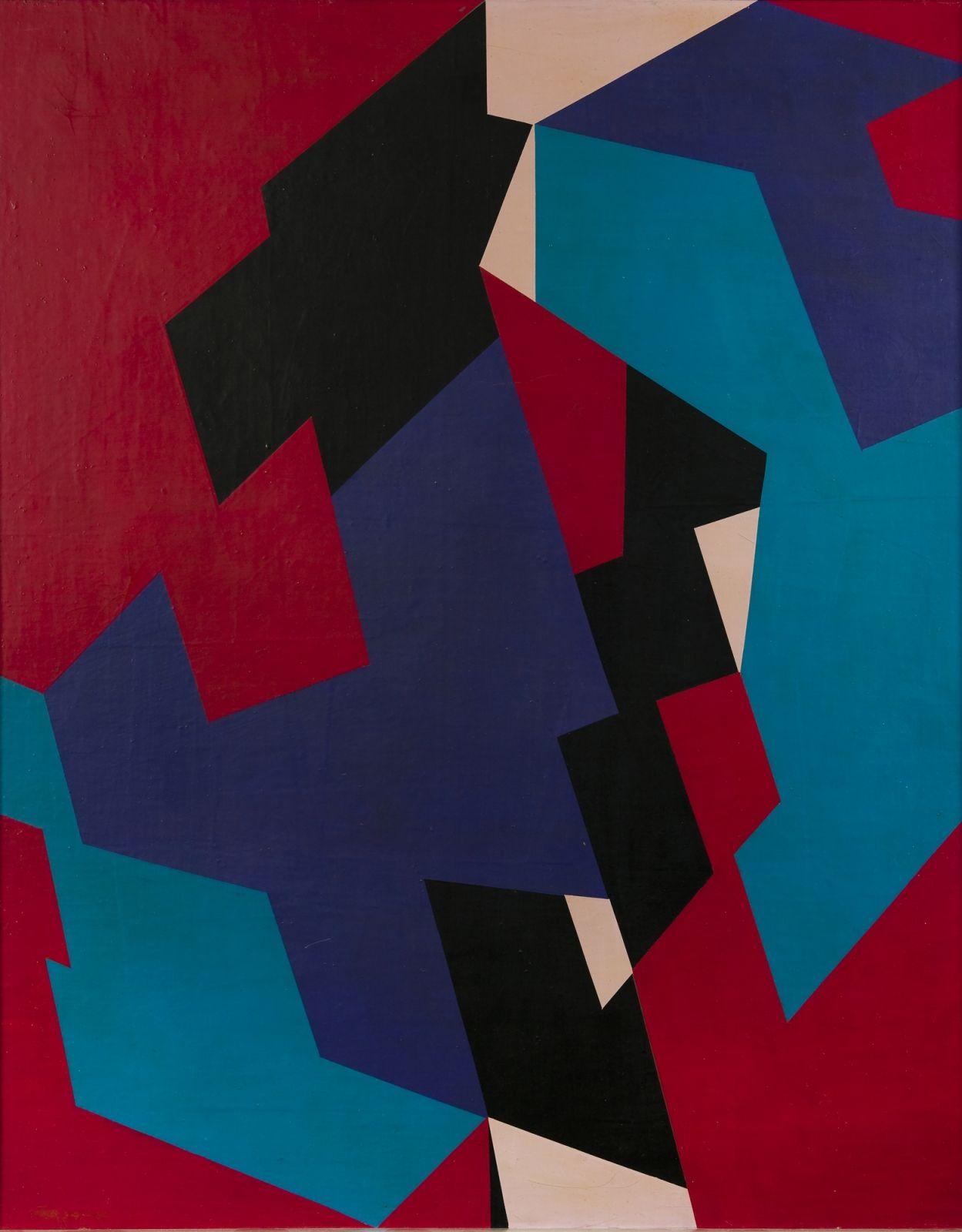 Gunnar S. Gundersen - Composition | Erling Neby Samling | Erling Neby Collection