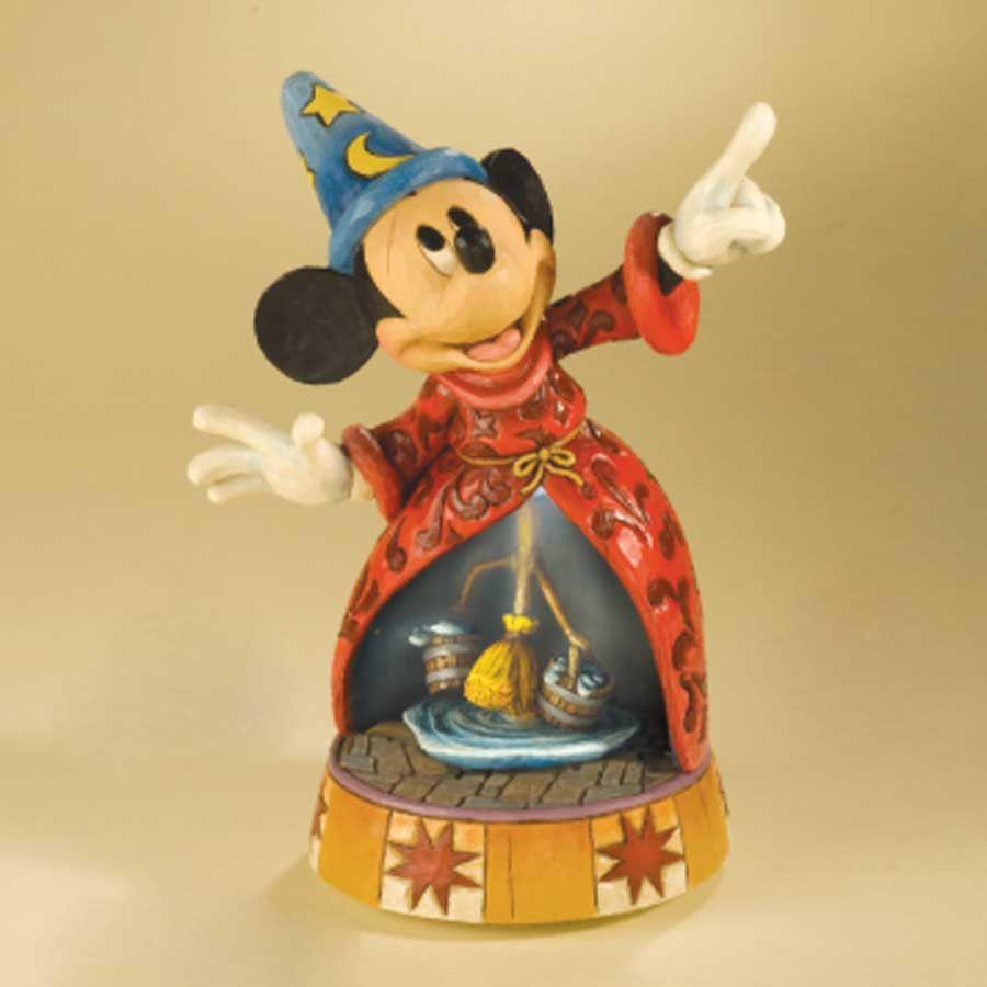jim shore fantasia | JIM Shore Disney Mickey Mouse Fantasia Musical Sorcerer'S…