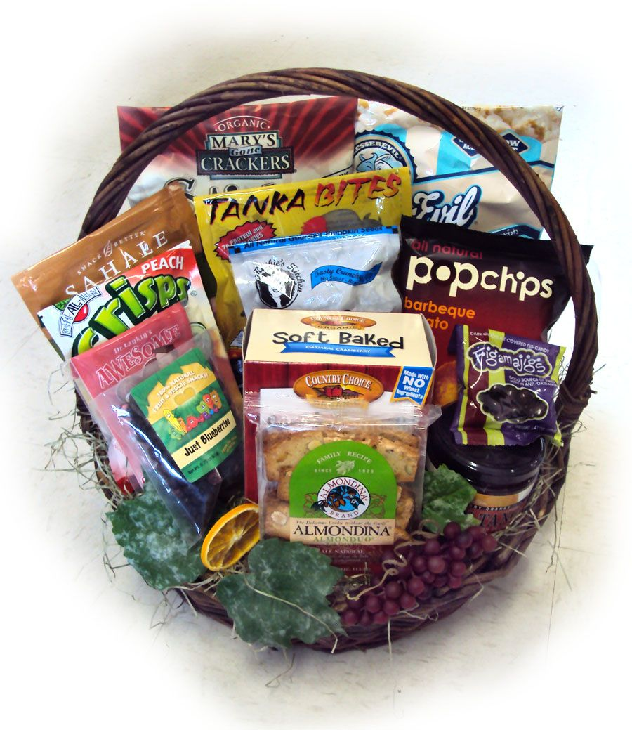 Healthy Birthday For Him Basket Deluxe