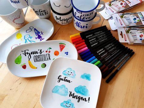 Photo of DIY-Tipp: Porzellan und Emaille malen – auch mit Kindern viel Spaß!