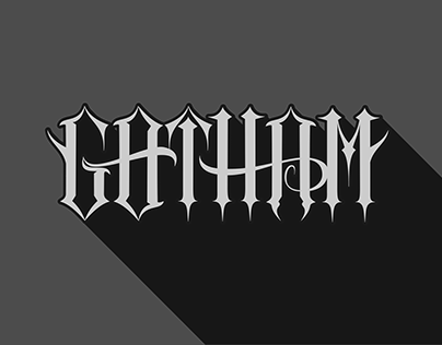 check out new work on my behance portfolio gotham inkscape lettering