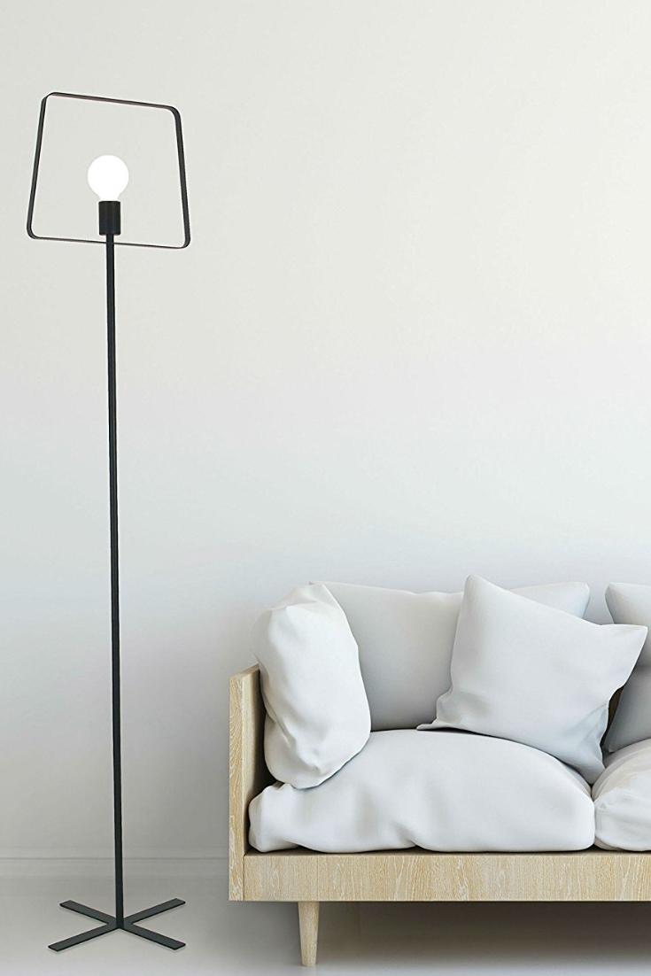 Brightech charlotte led tripod floor lamp home décor pinterest