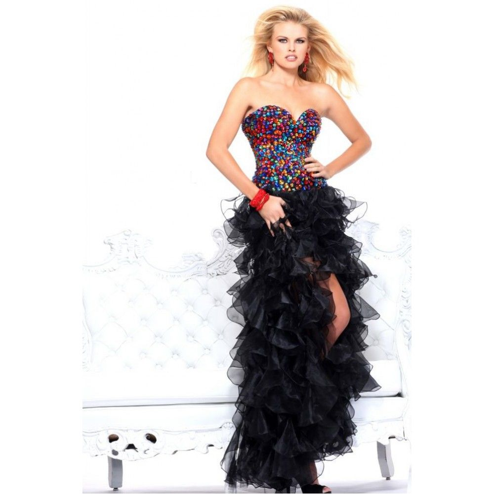 frilly prom dresses - Google Search  What I want to wear 2 ...