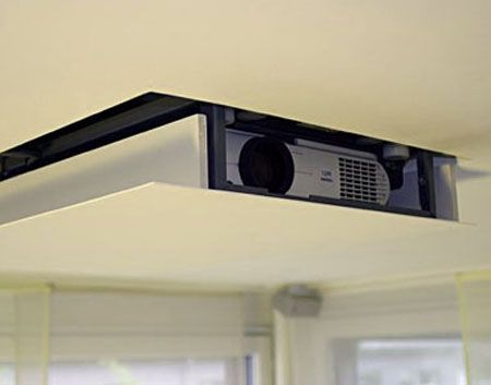concealed ceiling projector - Google Search | useful ...
