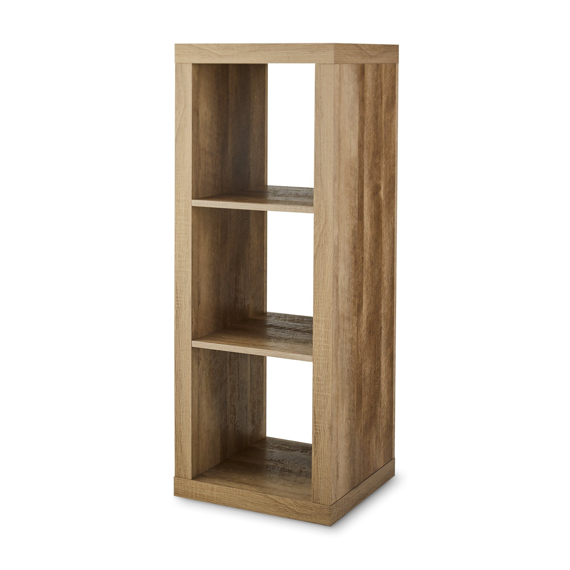6efc44f2d8be01fd0c90d63728be4545 - Better Homes And Gardens 3 Cube Organizer Bench Weathered