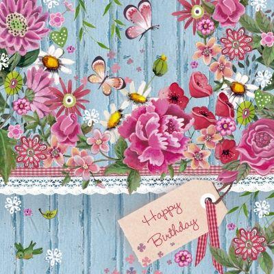 bloemen gefeliciteerd verjaardag