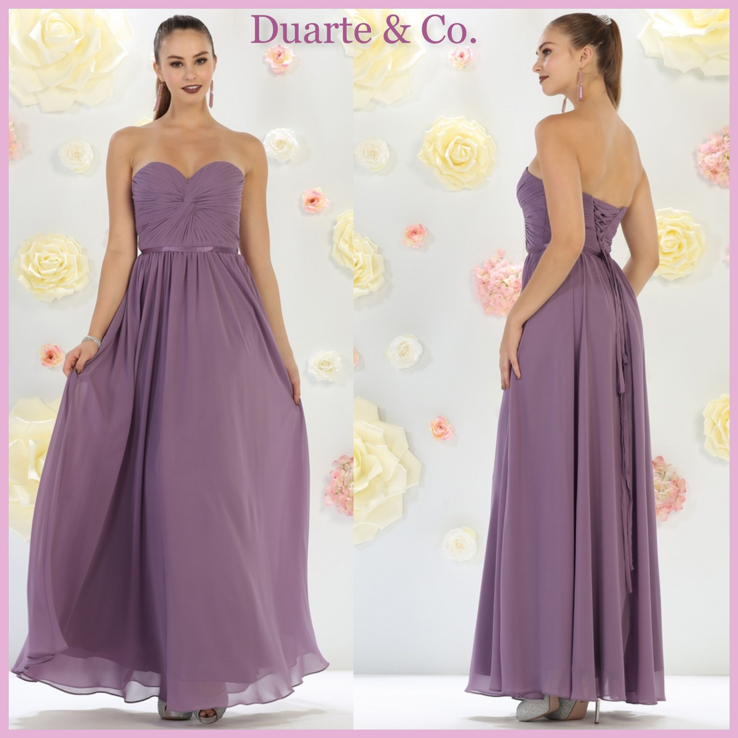 bbe7d16da2 LC211452  112.00 Strapless Chiffon Bridesmaid Dress W Plus Sizes Comes in  21 colors and is great for any special occasion. Available in PLUS SIZES 4  to size ...