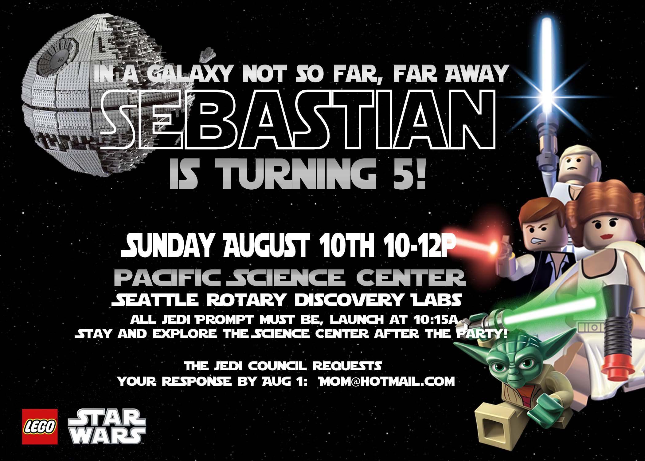 Star Wars Party Invitations Free Printable | Geburtstag | Pinterest ...