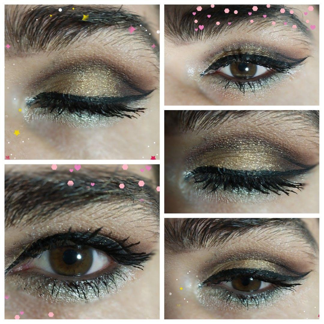 Easy make up for hooded eyes. Brown eyes smokey eye