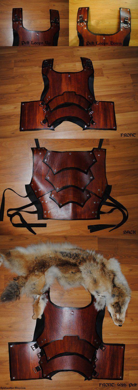 SCA Armor: Breastplate by *Epic-Leather on deviantART  Hvor er den feed med den rev på