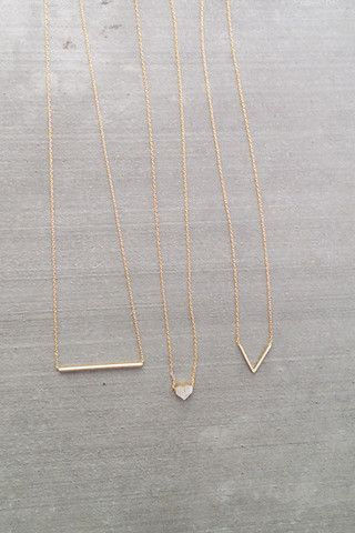 Looking For Simple Short Necklaces To Add Some Detail To Causal