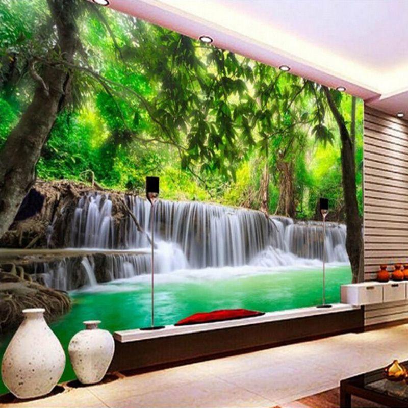 Beibehang personalizzato 3d photo wallpaper natura for Pitture per soggiorni