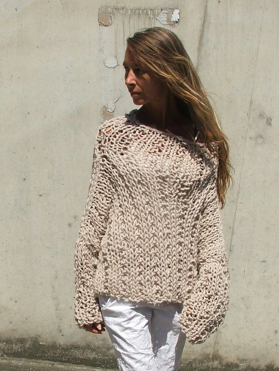 Soft stone beige chunky sweater 2 left in this SHADE | Suéteres ...