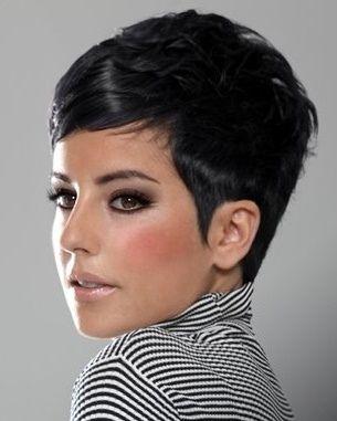 short black hair style