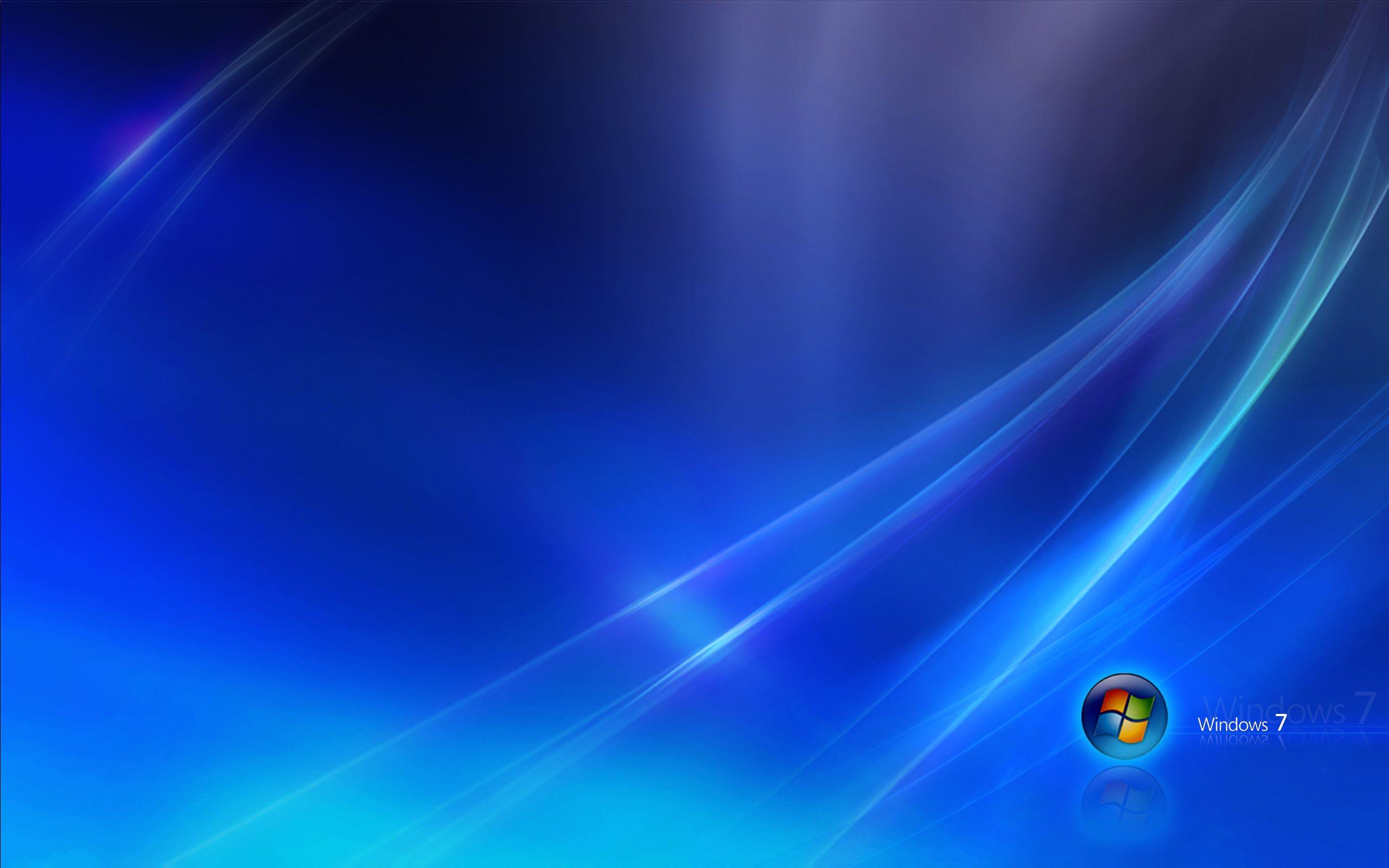windows 7 blue dark wallpaper hd - http://imashon/brands-logos