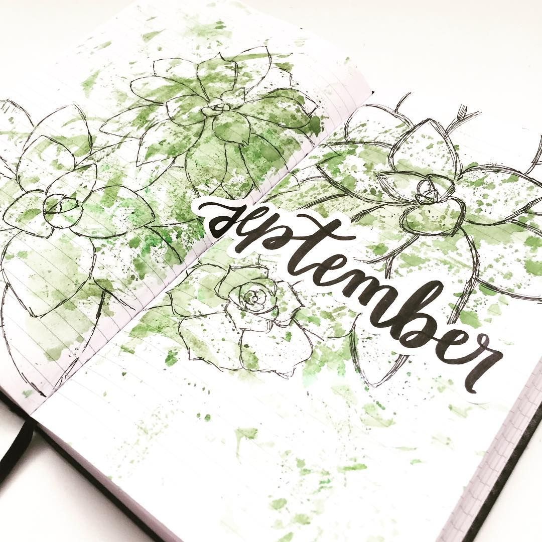 27 Superb September Bullet Journal Layouts To Inspire You #septemberbulletjournalcover