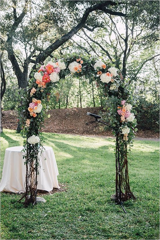 Pink Rose Garden Wedding Wedding Arbors Wedding Arch Floral Wedding