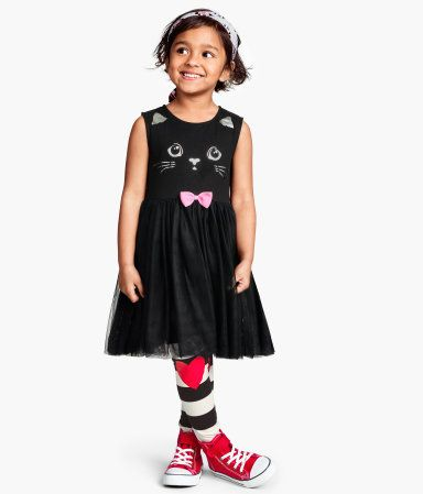 H Amp M Kitty Cat Dress Clothes For The Girls Kids