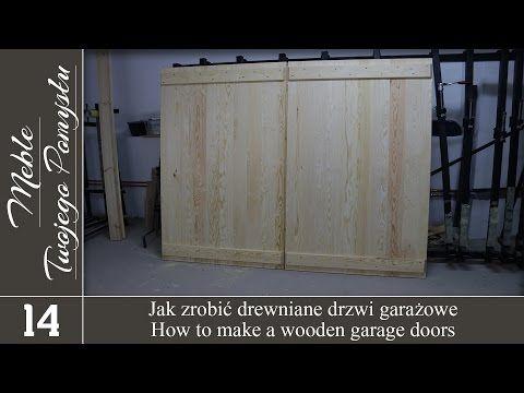 Jak się drzwi drzwi garażowe / How to make a wooden g …