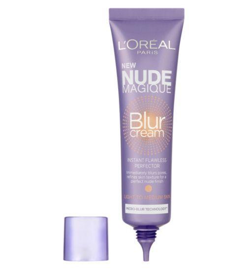 LOreal Nude Magique Blur Cream - Boots - the new primer