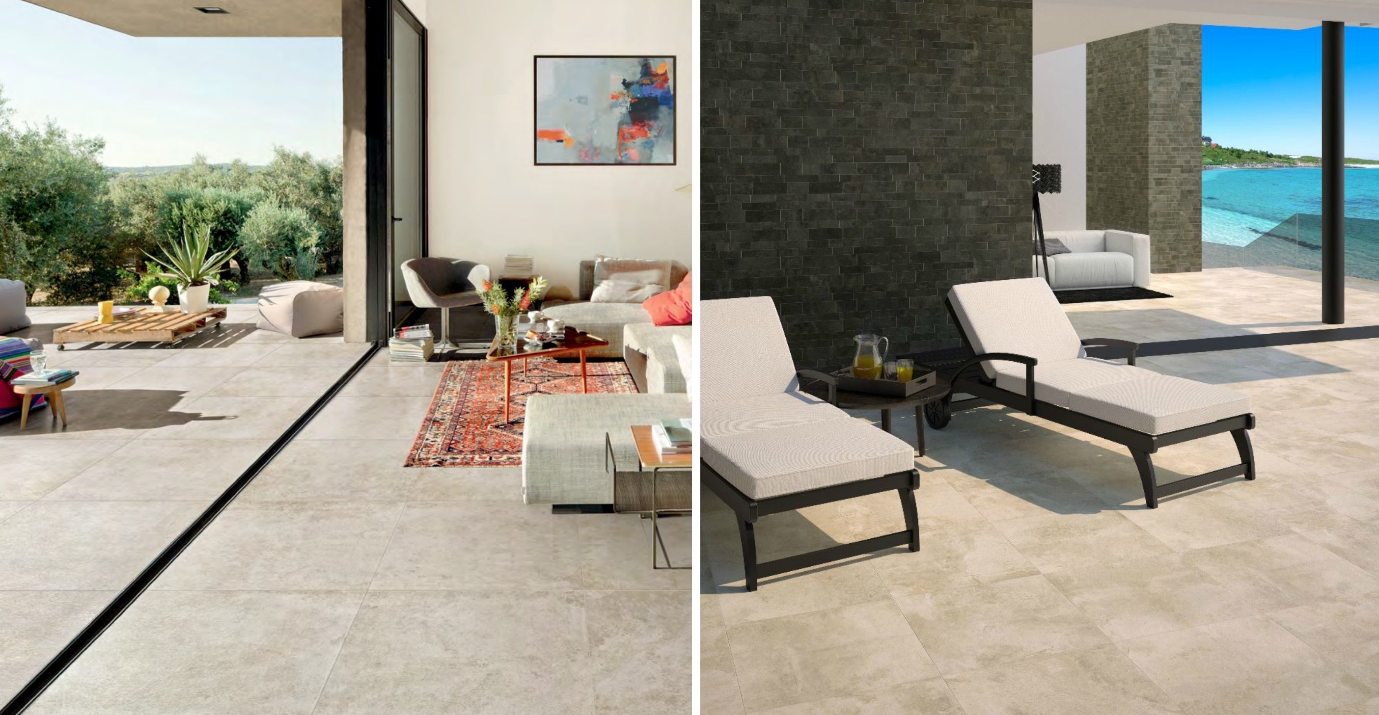 Connect Your Indoor And Outdoor Spaces Seamlessly With Porcelain Tile