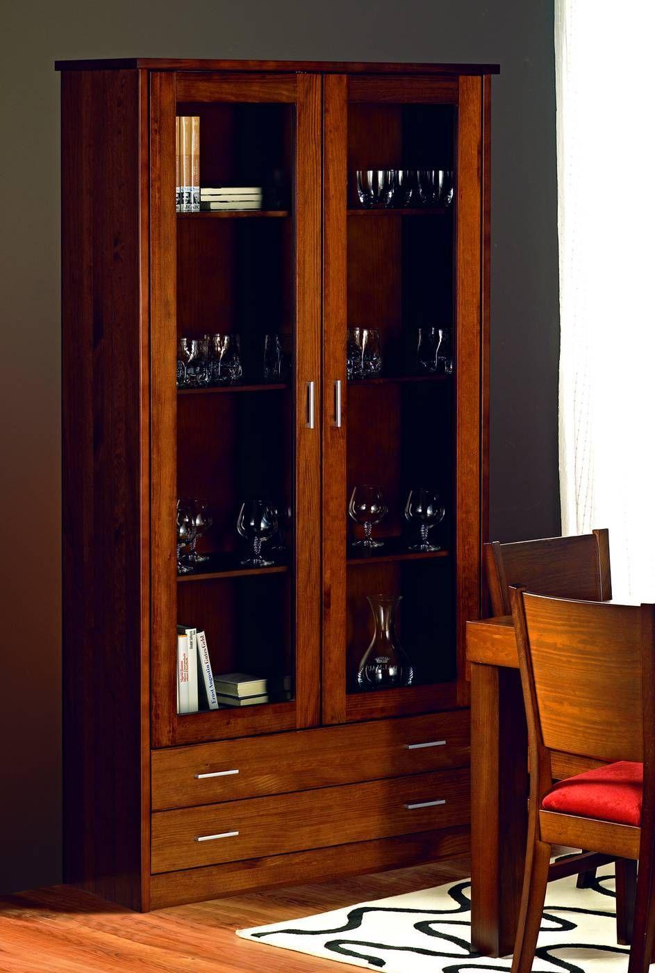 Vitrina 2 Puertas 2 Cajones 462 Iba Nova Vitrina100 Jpg 943 1400  # Muebles Vitrinas Para Comedor