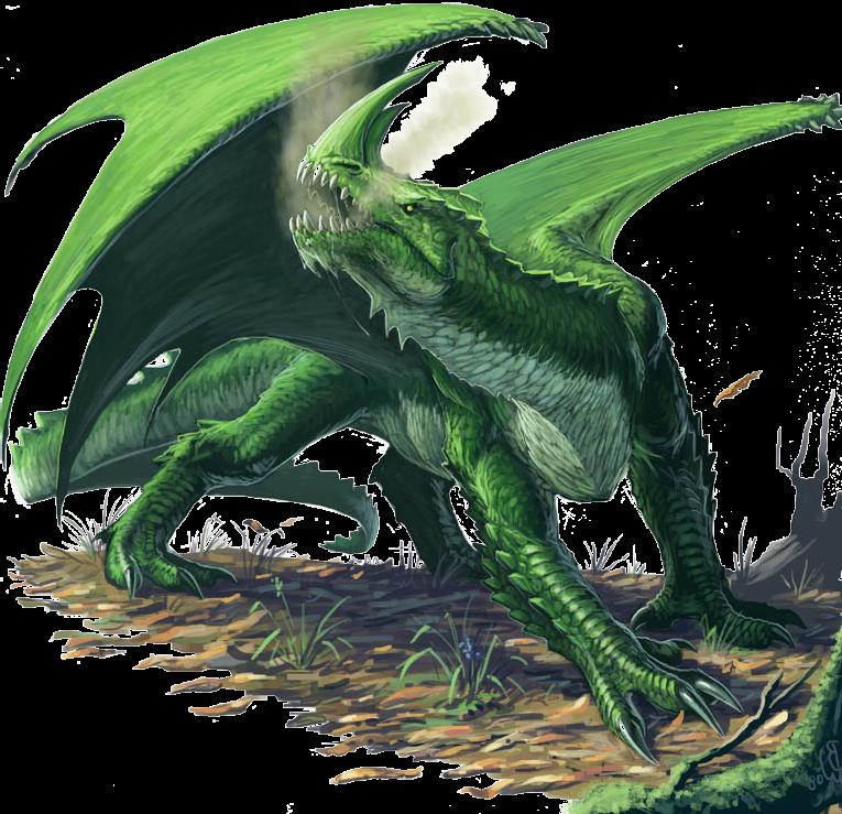 Green Dragon Rpg Adventure Art D20 Dragon Design Green Dragon Adventure Art