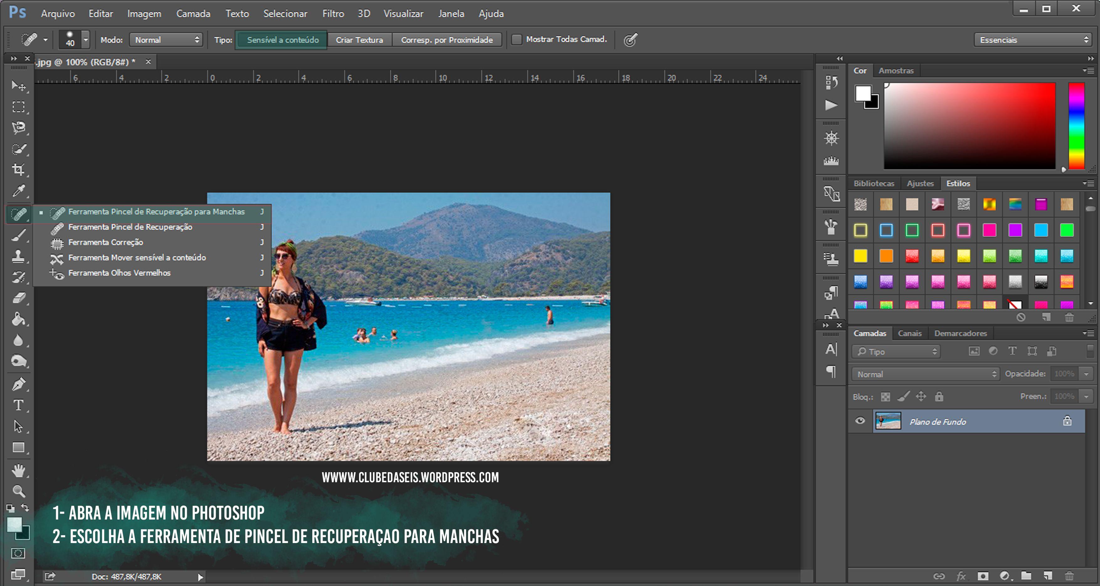 Tutorial – Como remover pessoas e objetos no Photoshop e App Picsart ...