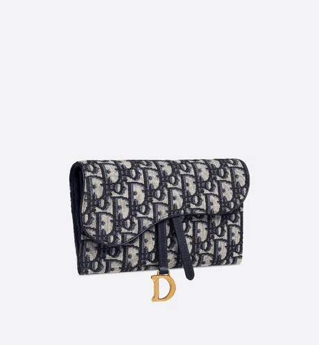 Dior Oblique Saddle Wallet Products Dior Dior Purses Bags Fashion Bags