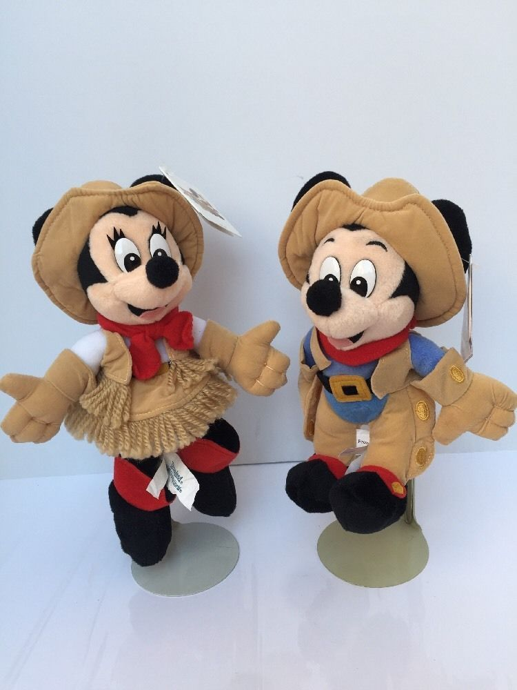 Surprising Disney Mickey Minnie Frontier Beanie Baby Bean Bag 10 Customarchery Wood Chair Design Ideas Customarcherynet