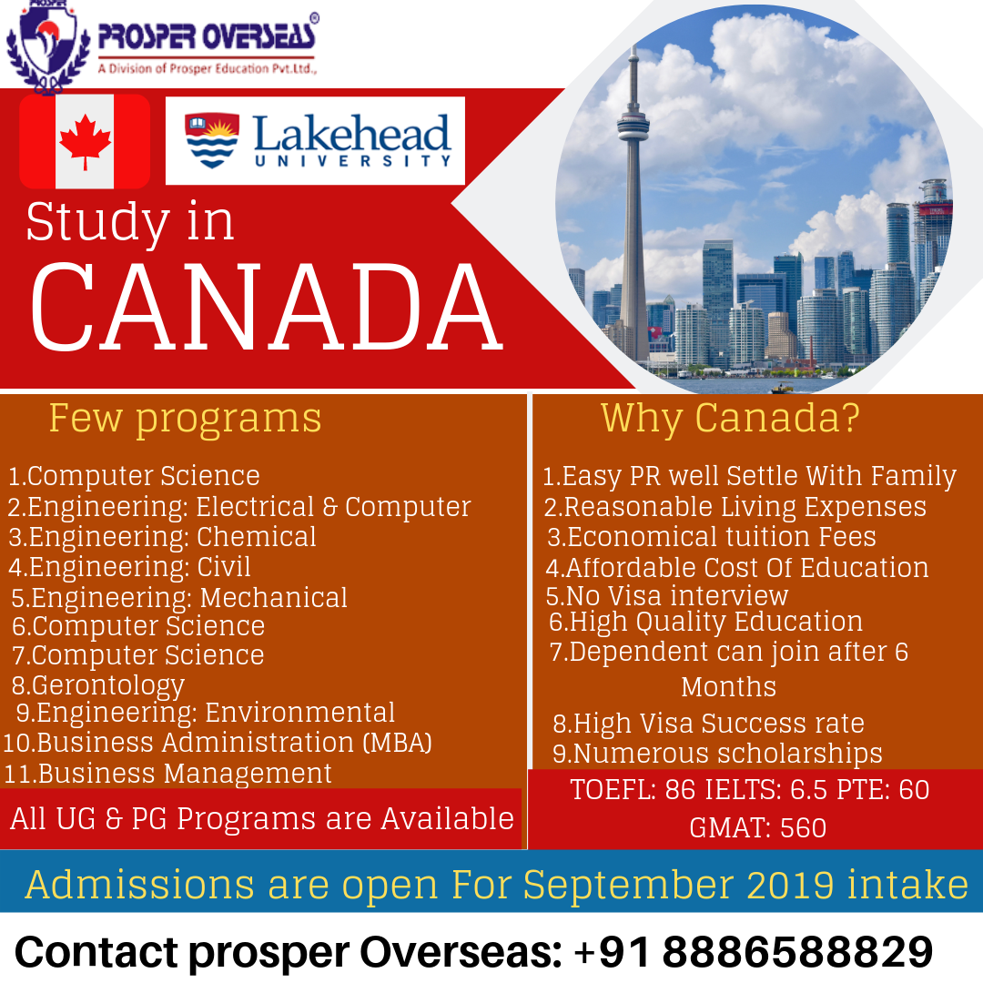 Study In Canada Scholarships Tuition Fees Overseas Education