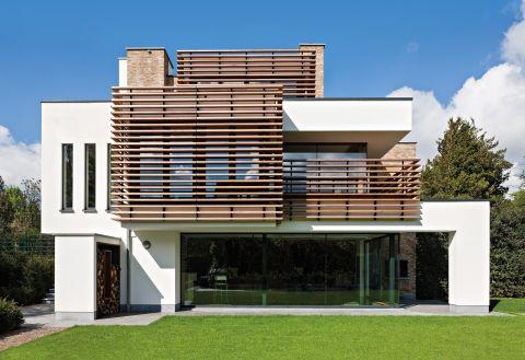 Renovatie Victoriaanse Villa : Bplus b modern nieuwbouw woning villa renovatie interessante