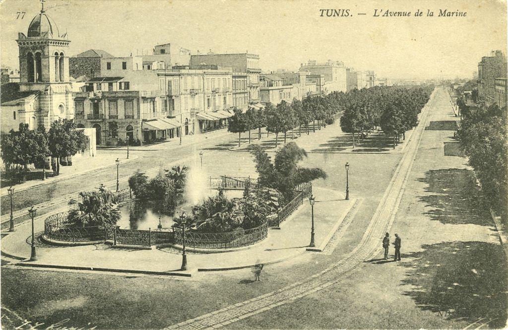 Fotos antiguas de Túnez.
