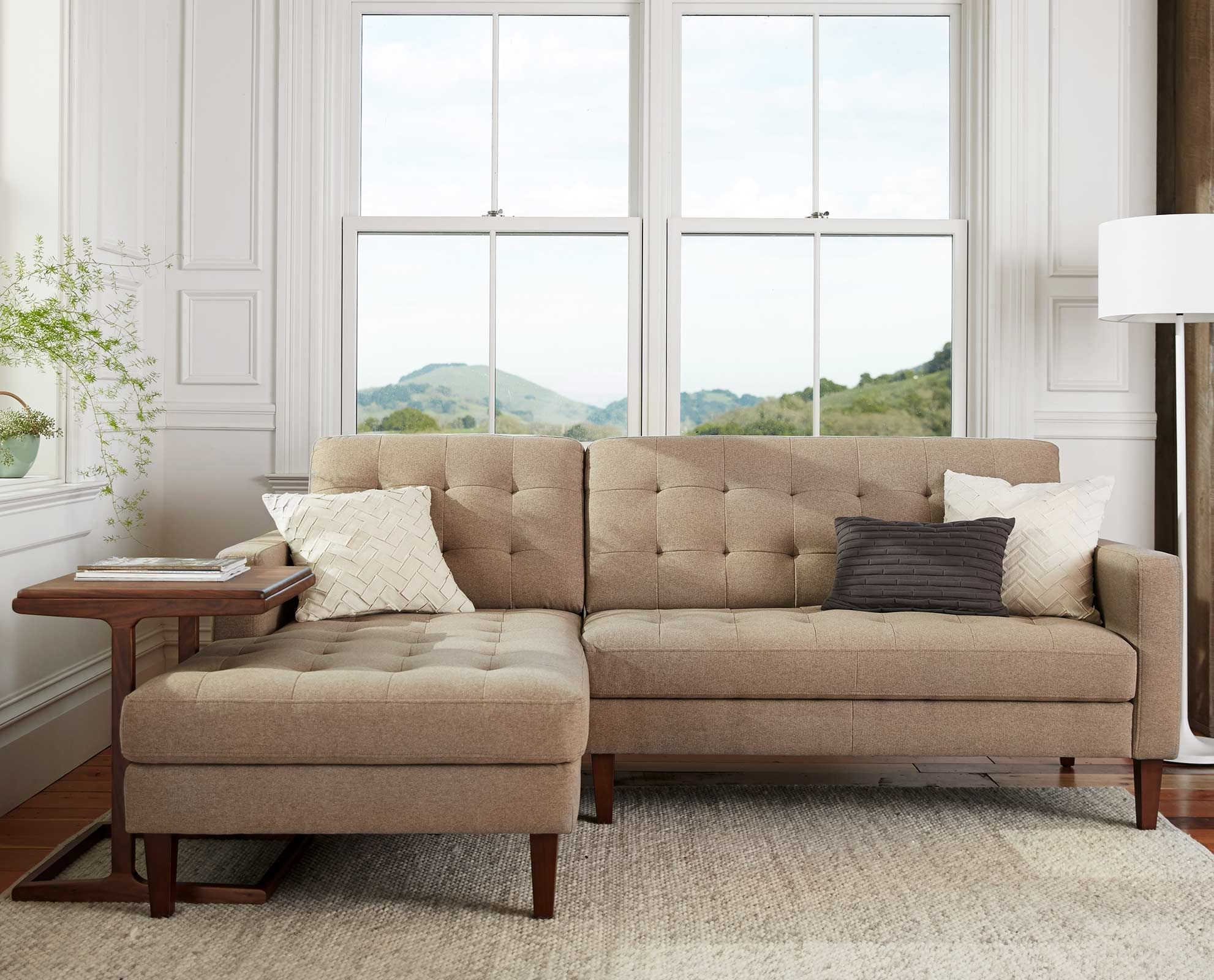 Dania - Create a relaxing aesthetic with the Camilla chaise sectional. Beautiful upholstery surrounds plush & Dania - Create a relaxing aesthetic with the Camilla chaise ... islam-shia.org