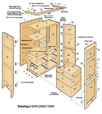 Woodworking Entertainment Center Plans