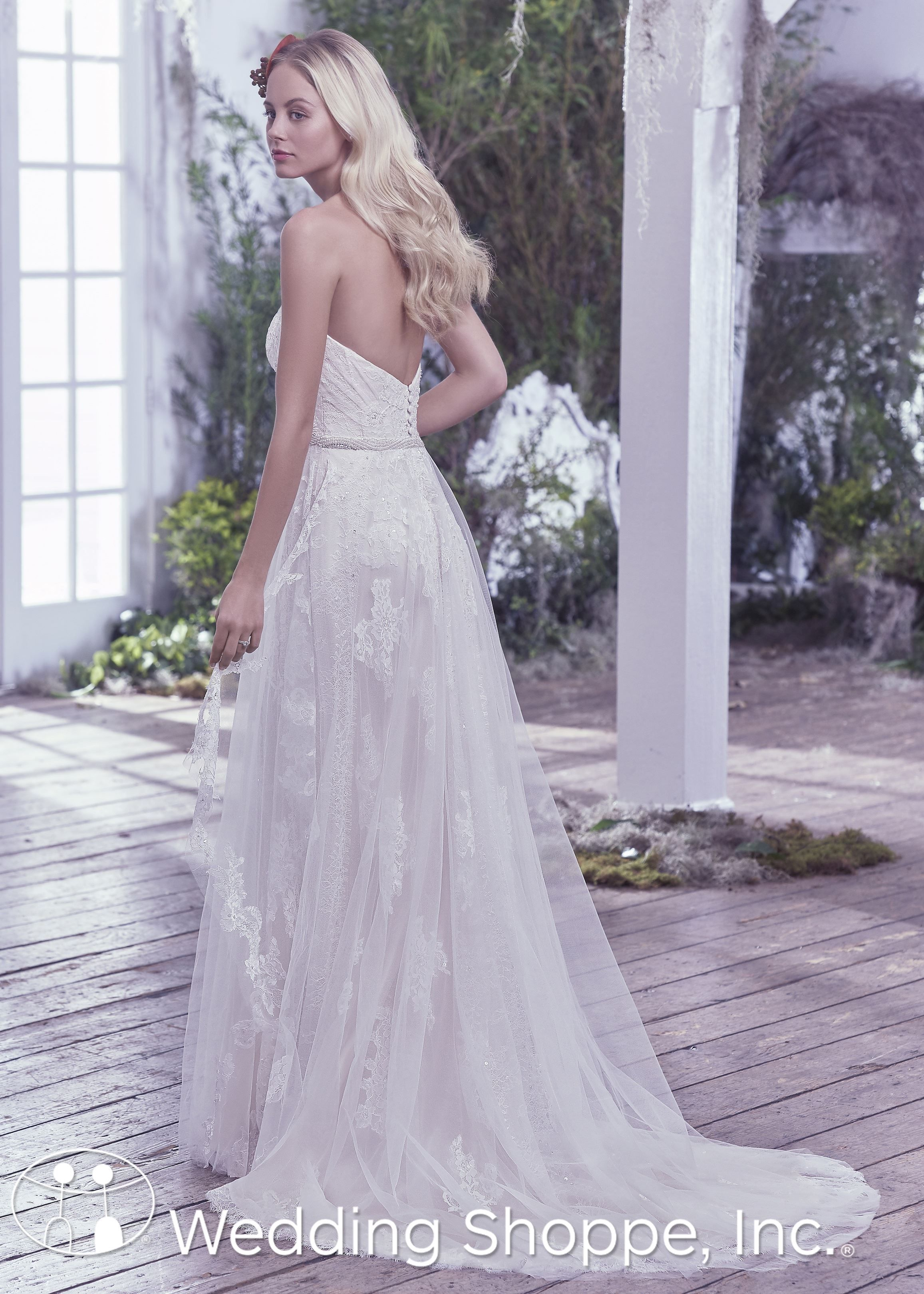 Maggie Sottero Bridal Gown Bailey 6mt832 Wedding Dresses