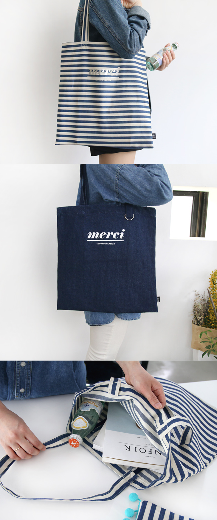 Shoulder bags can be fashionable like you too! Take the Merci Eco Shoulder Bag with you on the go and wherever you venture!