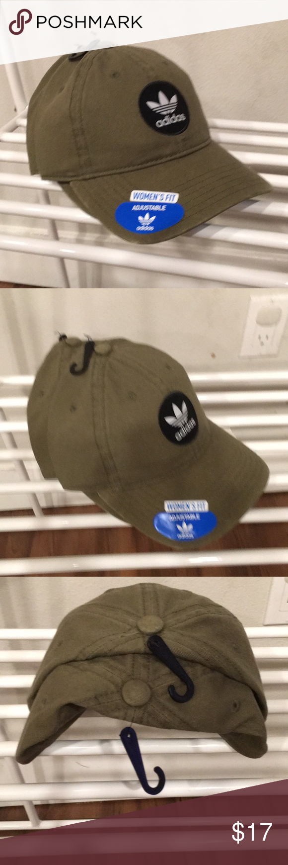 cec93dc9d1fb6 Olive Green Adidas Hat Brand New with Tags Olive Green Women s Hat from Pac  Sun with