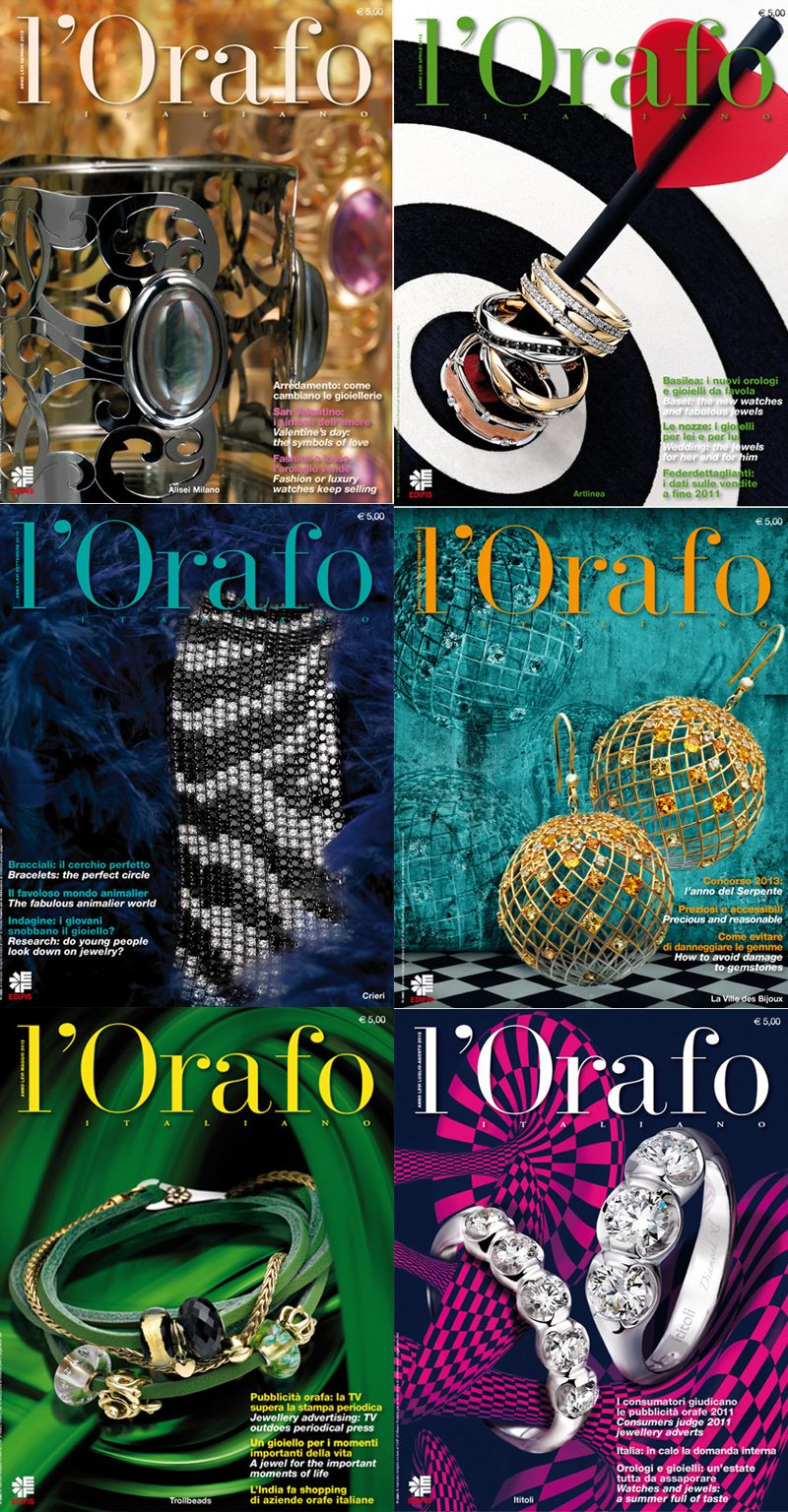 Cover L'Orafo Italiano 2012 www.closeupstudios.com http://orafoitaliano.it/