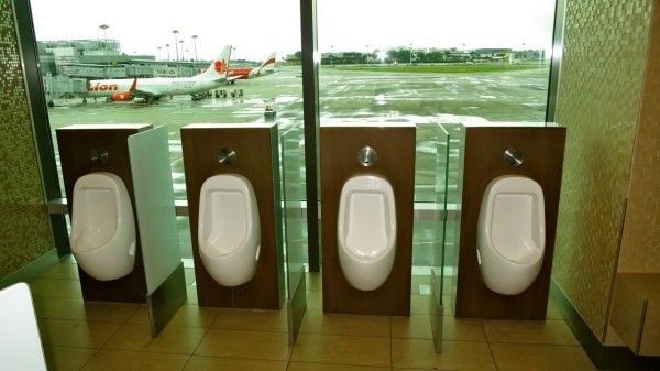 Changi Airport Toilets Offer Passengers A View Of The