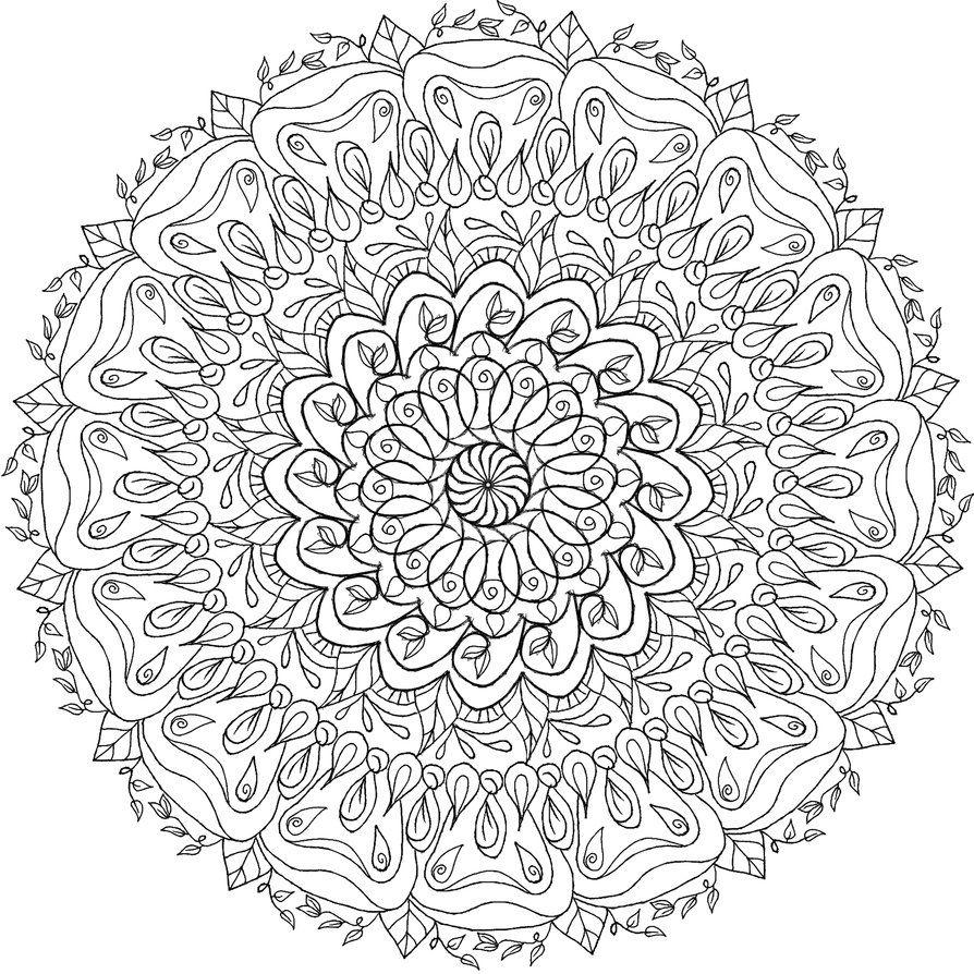 Krita Mandala 7 Mandala Coloring Pages Mandala Coloring Mandala
