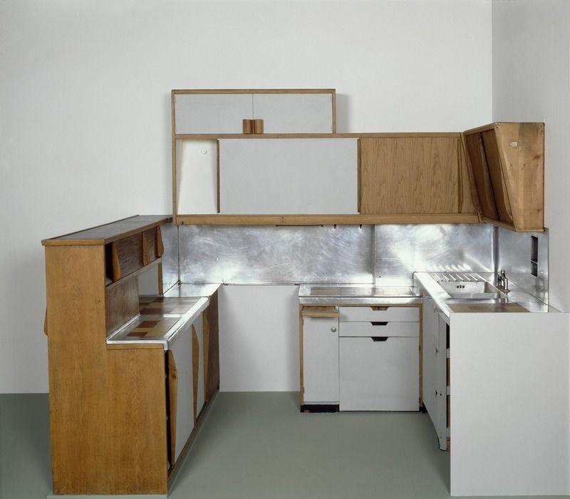 Meuble Cuisine Atelier Le Corbusier Type 1 Architecture design and