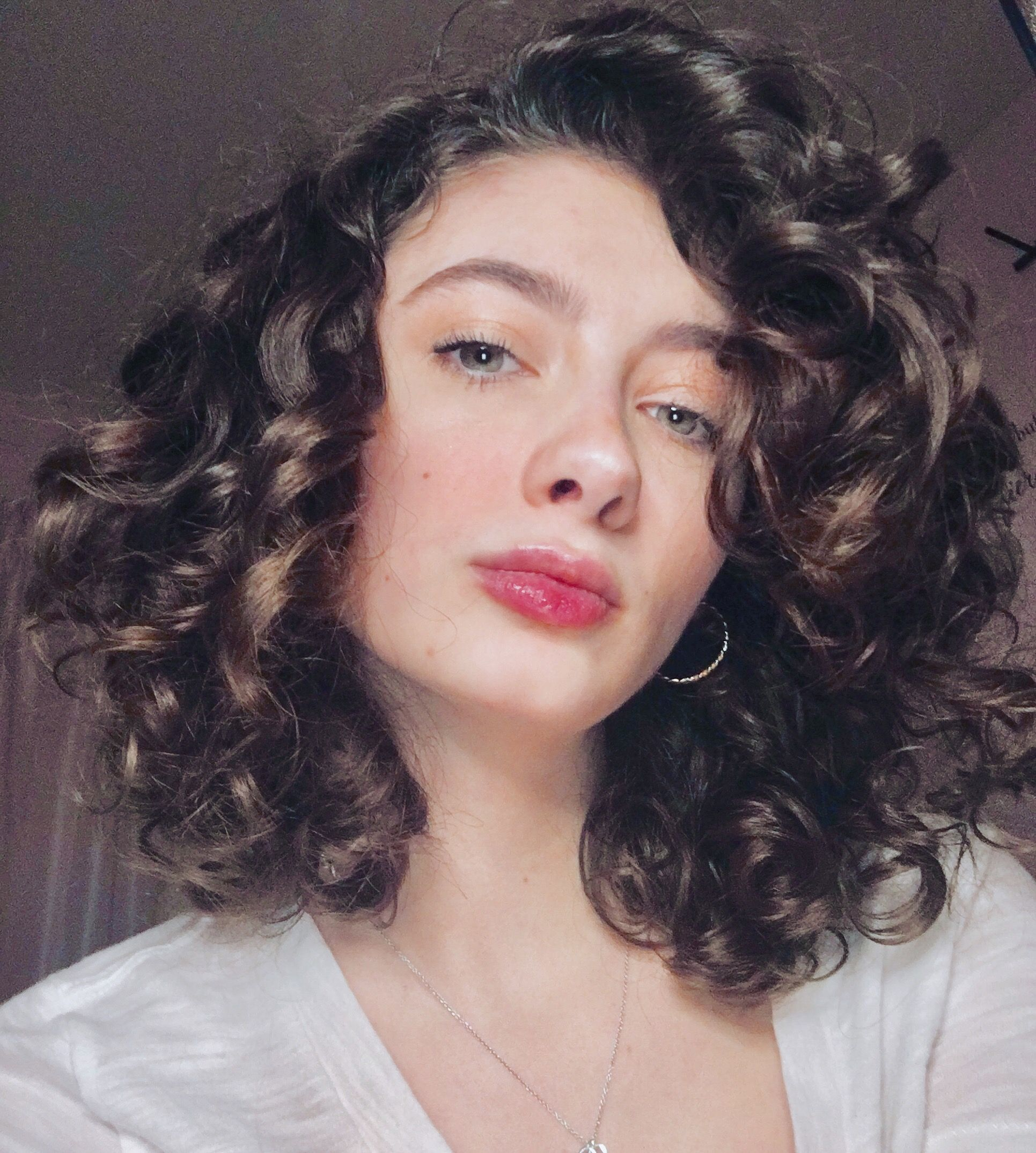 2c 3a curly bob | hair in 2019 | curly hair cuts, curly hair styles