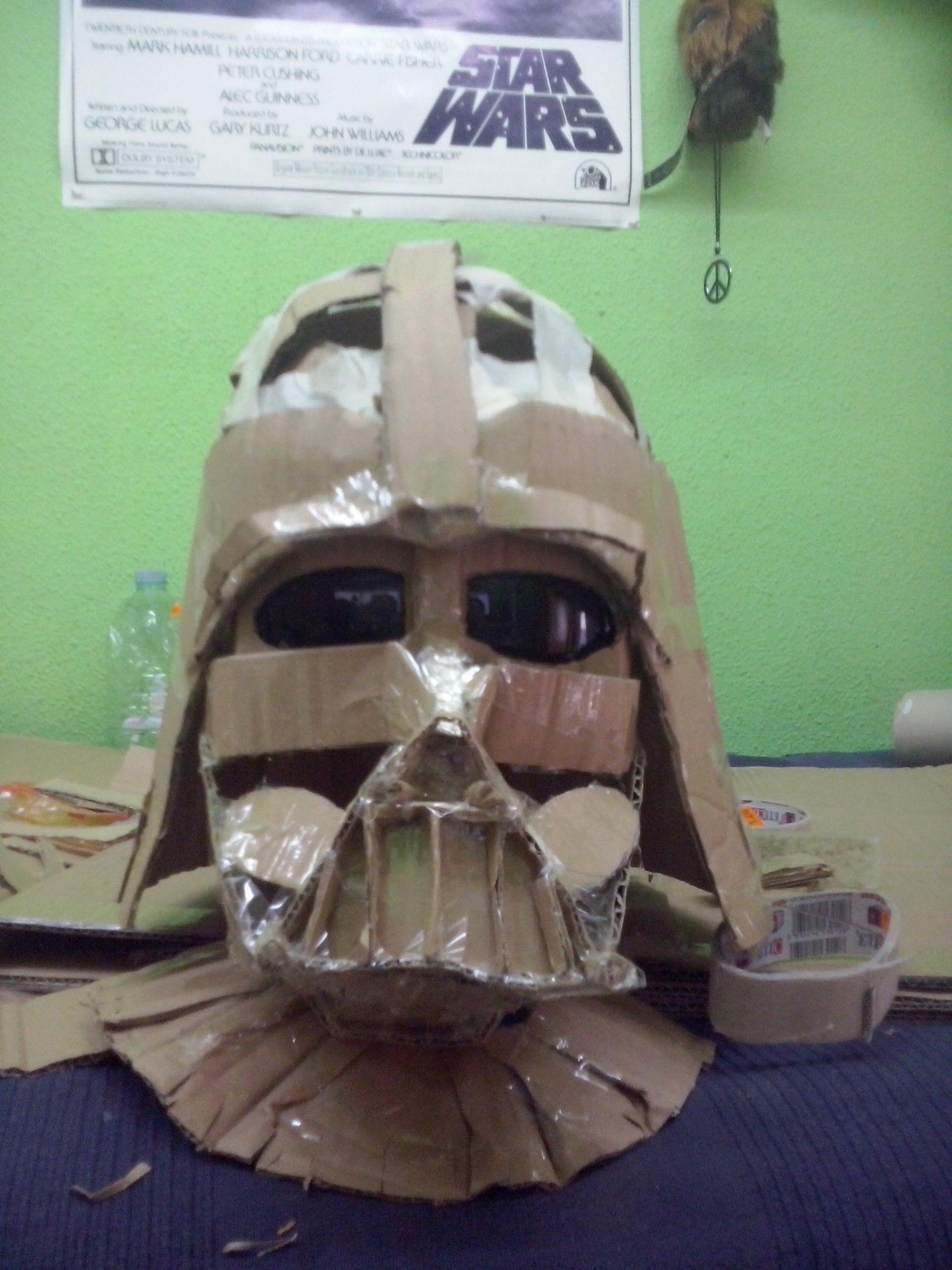 Cosplay Tutorial - Darth Vader Helmet (el casco y la máscara ...
