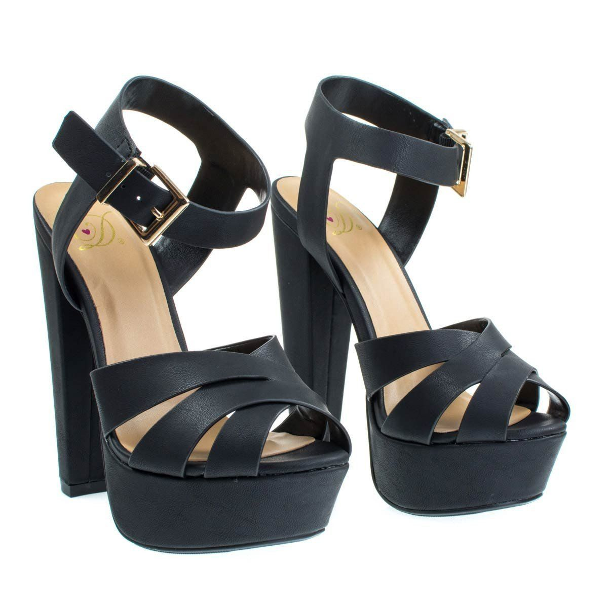 4ba7cd74b51 About This Shoes  Stand tall and proud with these towering high platform  sandal featuring a