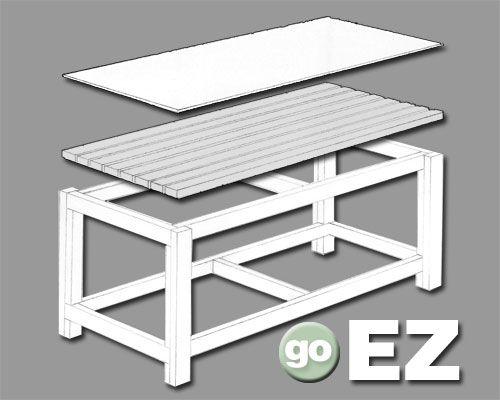 Free Plans Building Wood Workbench - Amazing Bedroom, Living Room